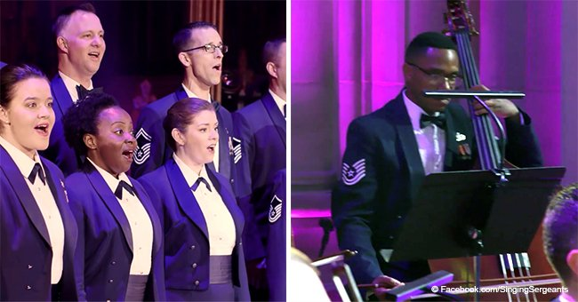 U.S. Air Force band's riveting holiday performance continues to touch hearts in viral video