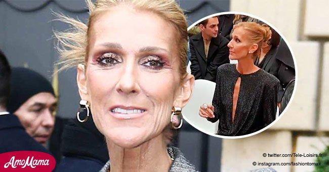 Céline Dion montre sa silhouette très maigre et provoque une grande inquiétude chez ses fans (vidéo)