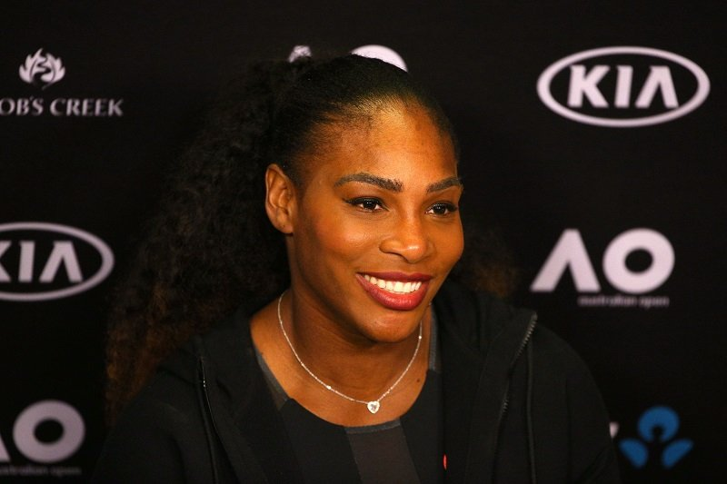 Serena Williams at Melbourne Park on January 28, 2017 in Melbourne, Australia | Photo: Getty Images