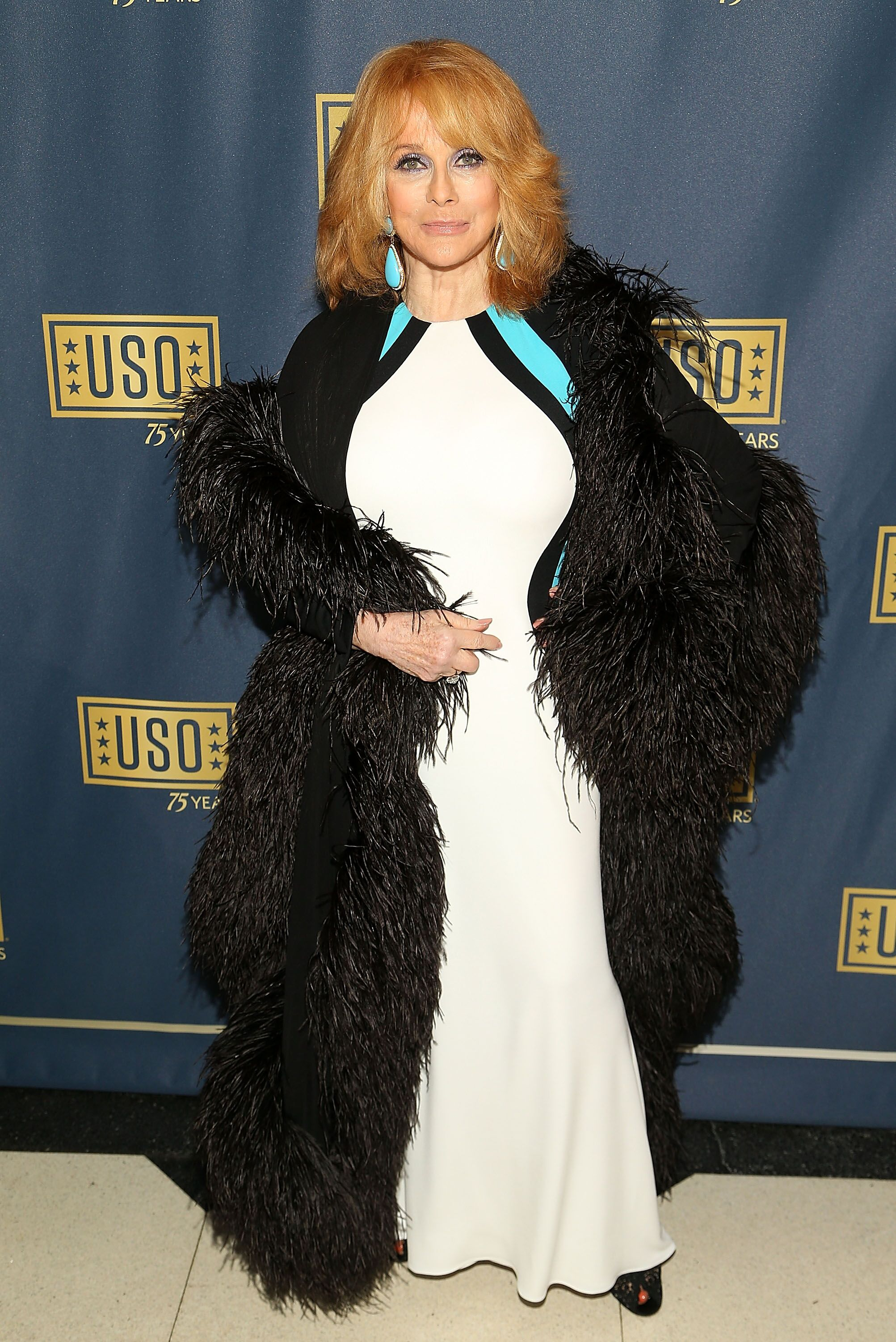 Actress Ann-Margaret attends the 2016 USO Gala on October 20, 2016 at DAR Constitution Hall in Washington, DC   Photo: Getty Images
