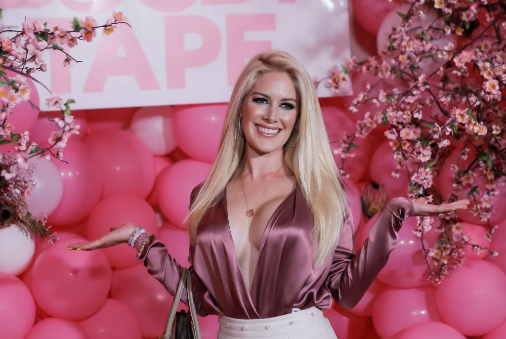 Heidi Pratt at the Booby Tape USA launch party, July 2019 | Source: Getty Images