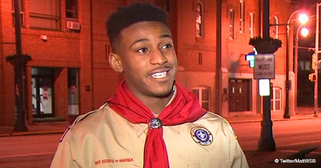 Boy scout hailed as hero for saving 12-year-old from drowning in raging waters