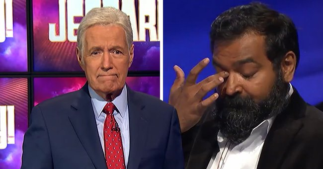 Watch 'Jeopardy' Champion Burt Thakur Tearfully Thank Alex Trebek for Changing His Life