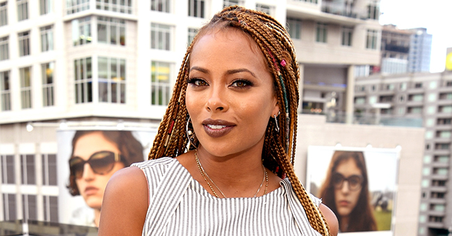 Pregnant Eva Marcille Flaunts Her Bump in Colorful Jumpsuit (Photo)