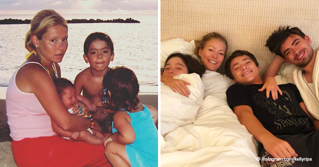 Kelly Ripa Shares Then and Now Pics of Her Kids on Mother's Day