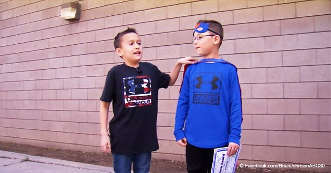 9-Year-Old Boy Saves Best Friend Who Started to Choke While Eating a Snack