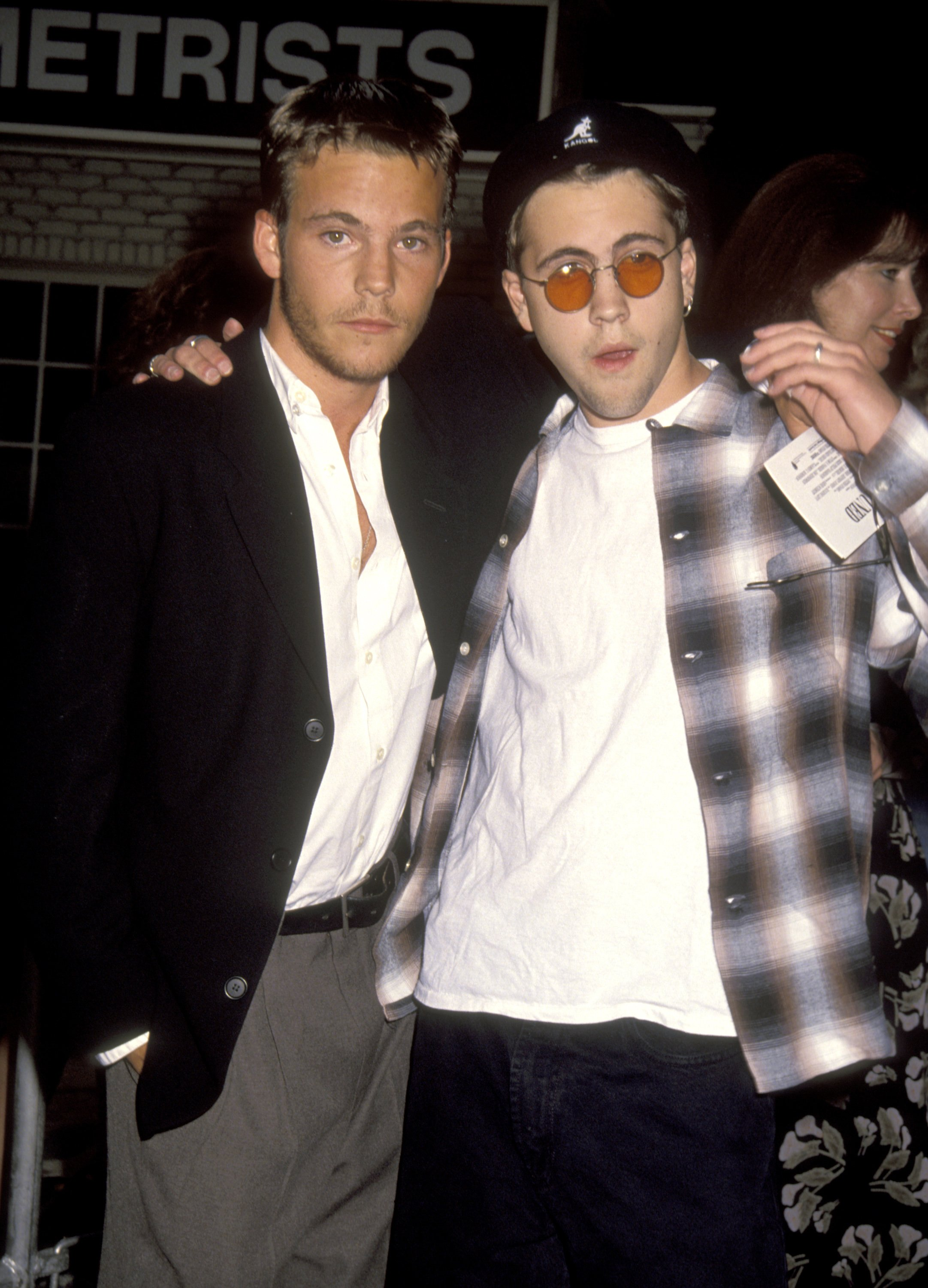 "Stephen Dorff and Brother Andrew Dorff at the ""Stay Tuned"" Hollywood Screening - August 13, 1992 