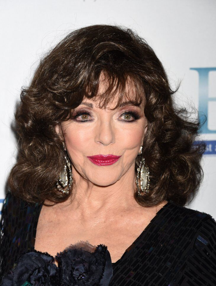 """Joan Collins at the Associates For Breast and Prostate Cancer Studies Annual """"Talk Of The Town"""" Gala 