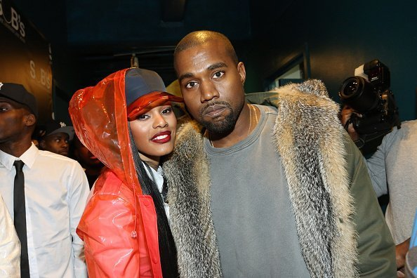 Teyana Taylor and Kanye West attend SOB's in New York City. | Photo: Getty Images
