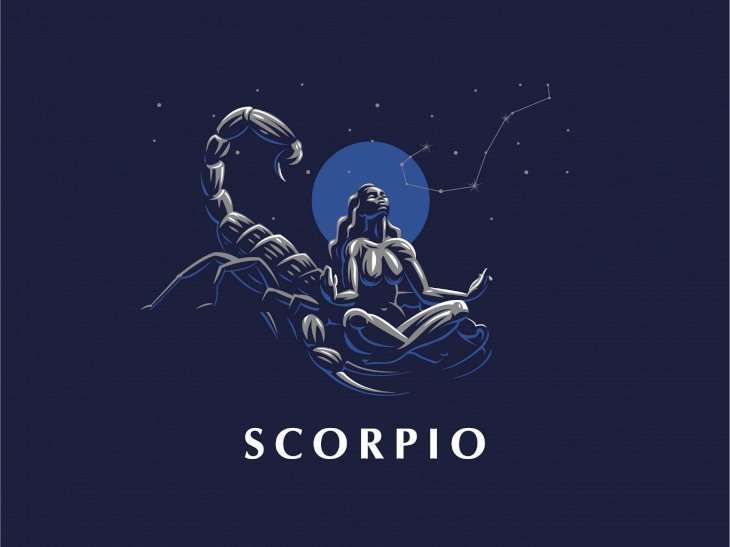 Scorpio sign.  |  Image taken from: Shutterstock