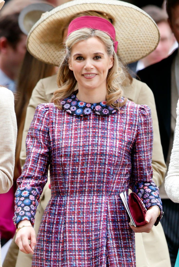 Sophie Carter asiste a la boda de Pippa Middleton y James Matthews en la Iglesia de St Mark | Imagen: Getty Images