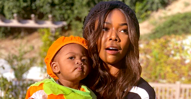 Gabby Union Shares Sweet Snaps of Baby Kaavia in Pumpkin Outfit Days after Her 11-Month B-Day