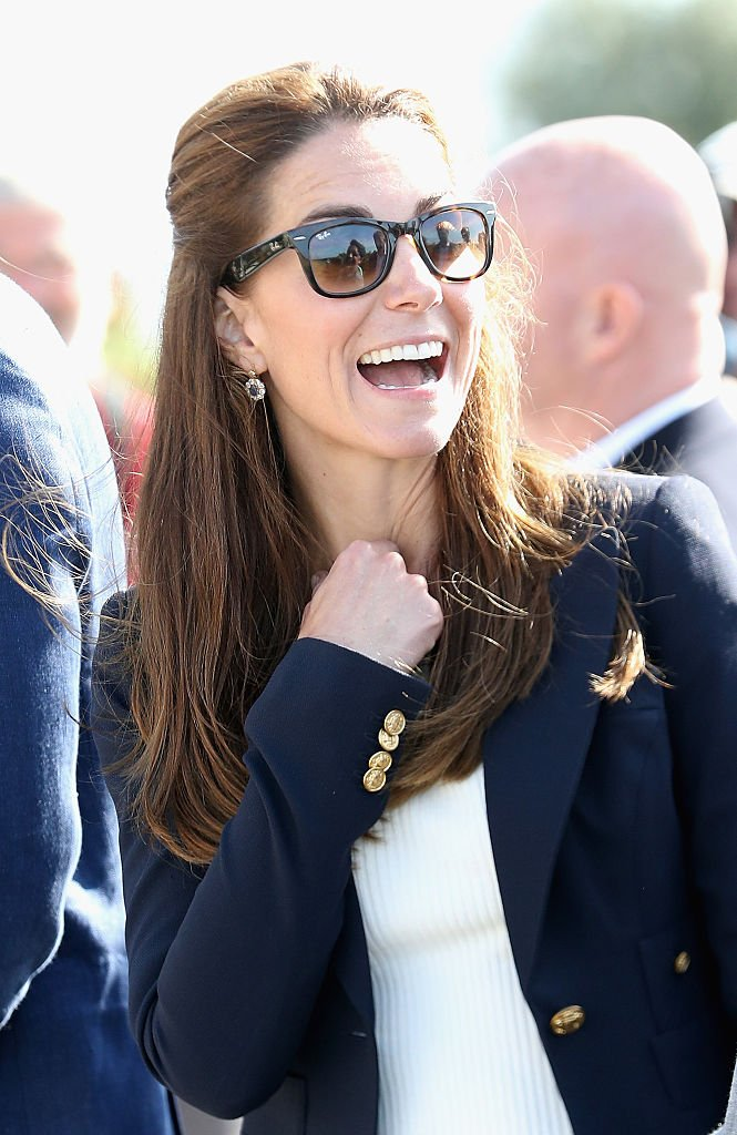 Kate Middleton on September 2, 2016 in St Martins, England | Photo: Getty Images