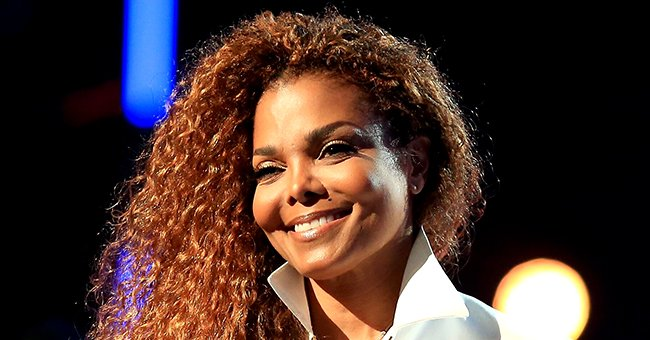 Janet Jackson and Baby Son Eissa Build a Mini-House during Quarantine