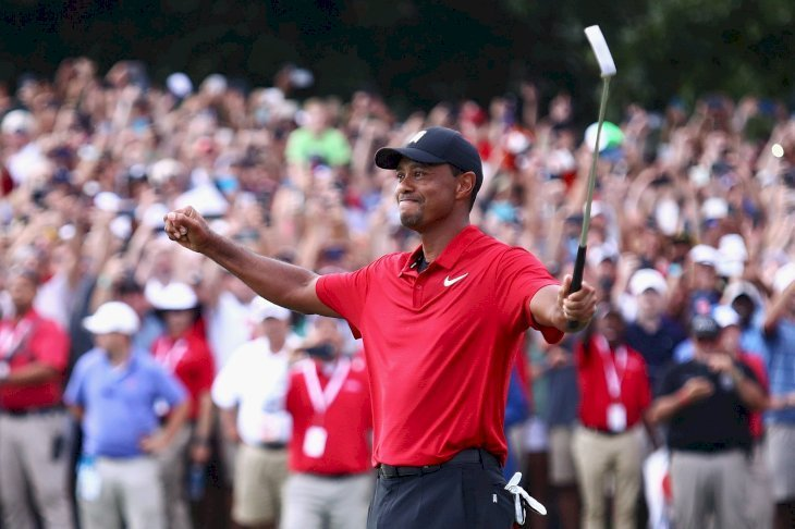 Tiger Woods at the TOUR Championship at East Lake Golf Club on Sep. 23, 2018, in Atlanta, Georgia. |Photo: Getty Images