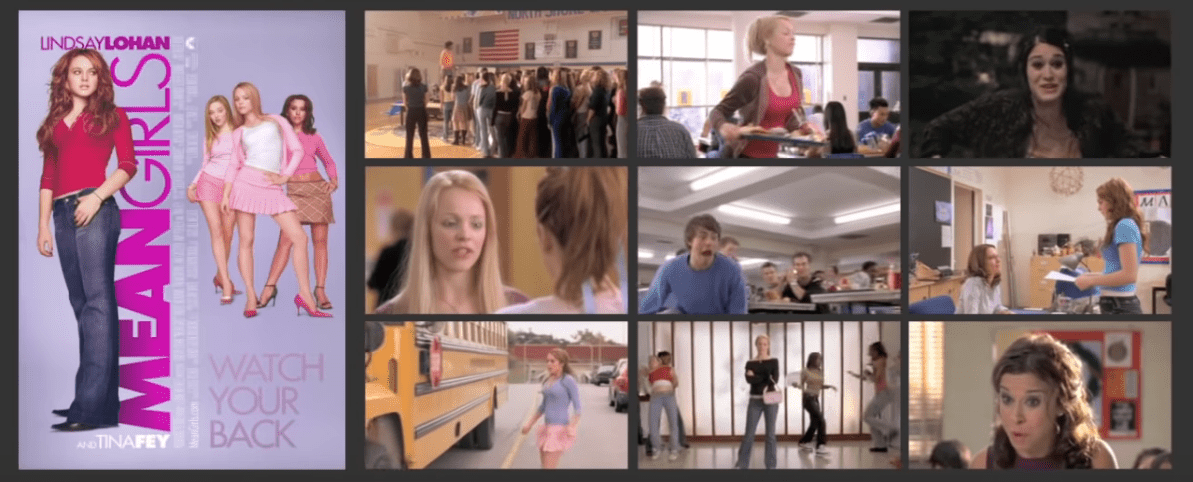 A screenshot of the trailer of Mean Girls the movie. | Photo: YouTube/Movieclips
