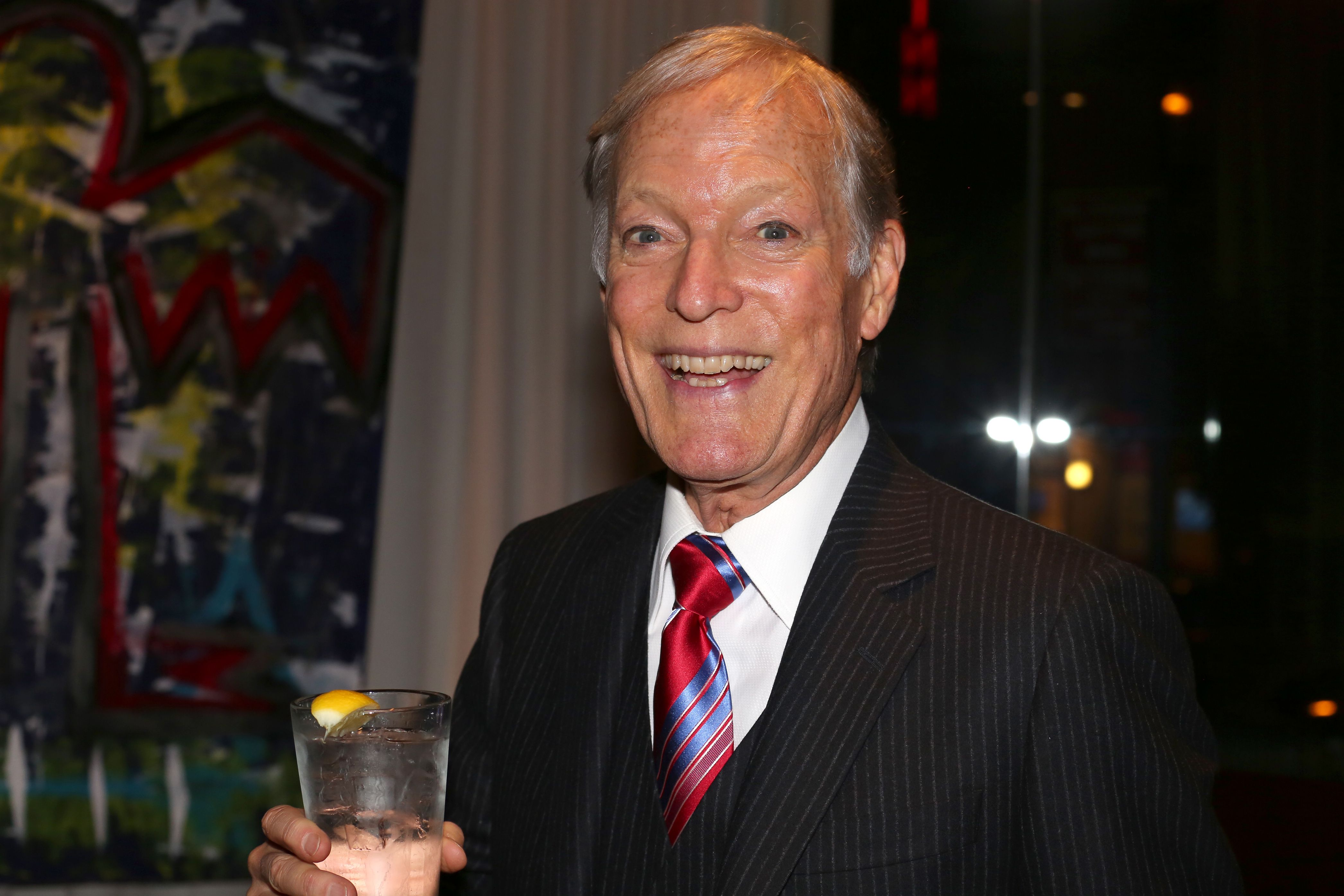 Richard Chamberlain attends the Off-Broadway Opening Night after party for the New Group production of Sticks and Bones' at Ktchn in The Out NYC on November 6, 2014 in New York City. | Source: Getty Images