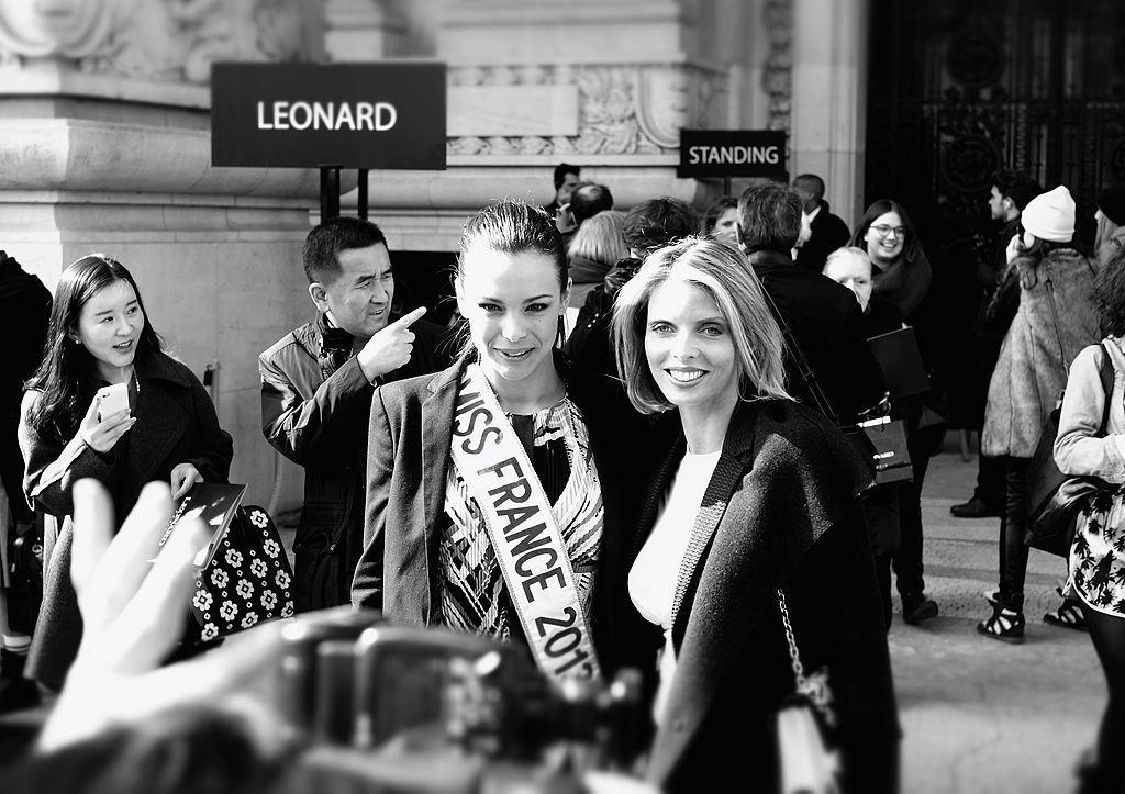 Marine Lorphelin et Sylvie Tellier en 2013. l Source : Getty Images
