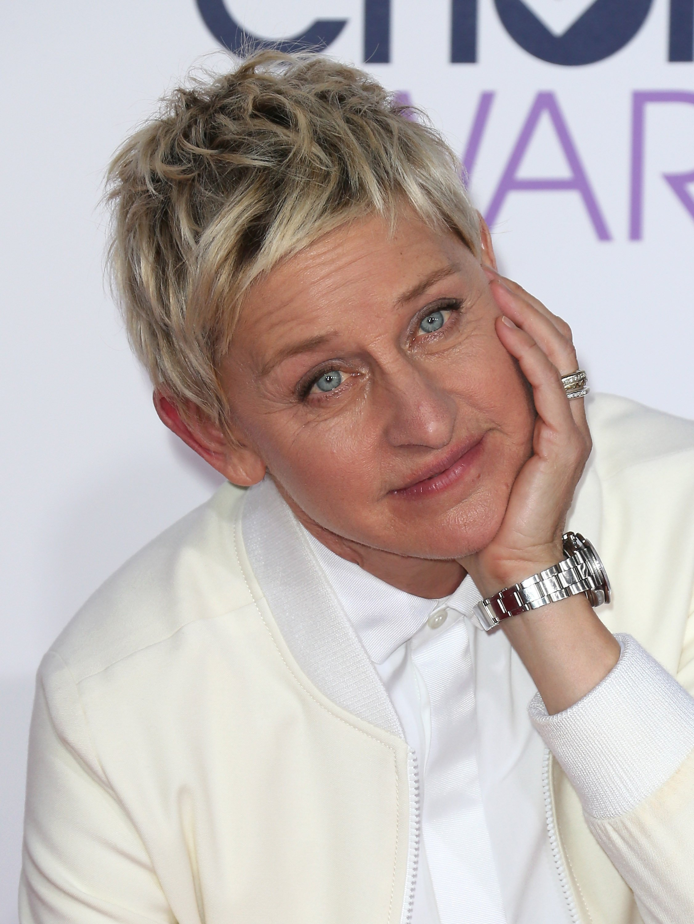 Ellen DeGeneres pictured at the People Choice Awards, 2015, Los Angeles, California.   Photo: Getty Images