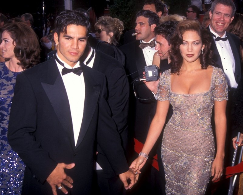 Jennifer Lopez and Ojani Noa in Los Angeles, California on March 24, 1997 | Photo: Getty Images