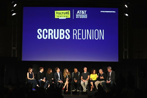 """The casts of """"Scrubs"""" at Hollywood Roosevelt Hotel on November 17, 2018 in Hollywood, California. 