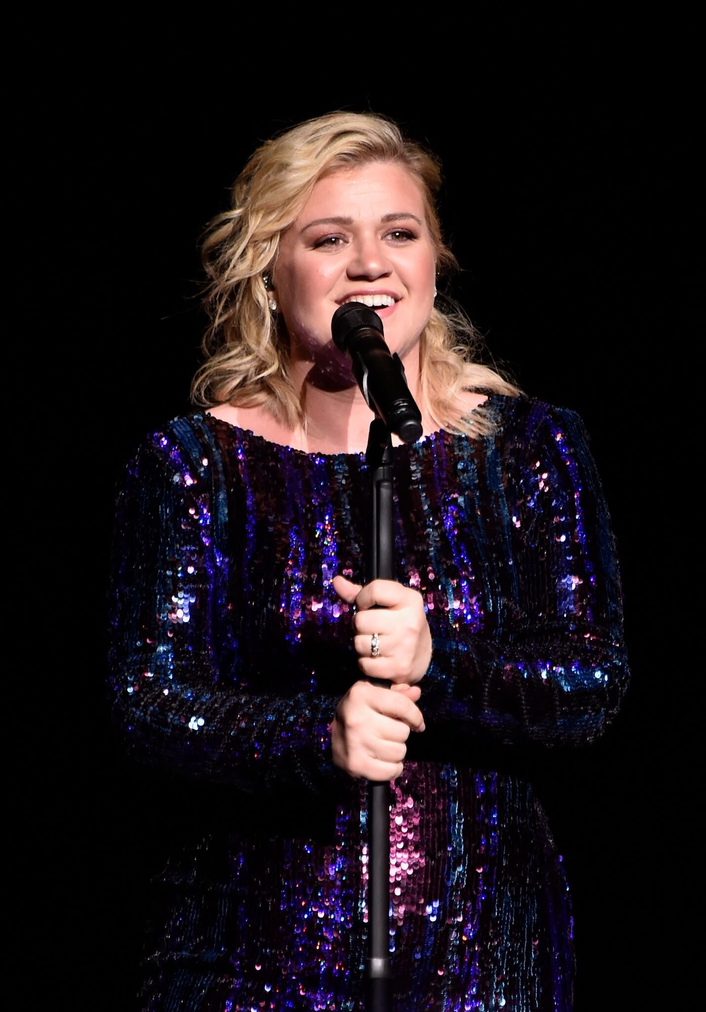 Kelly Clarkson performs at the Sands Cares INSPIRE 2019 charity concert benefiting local nonprofit organizations | Getty Images