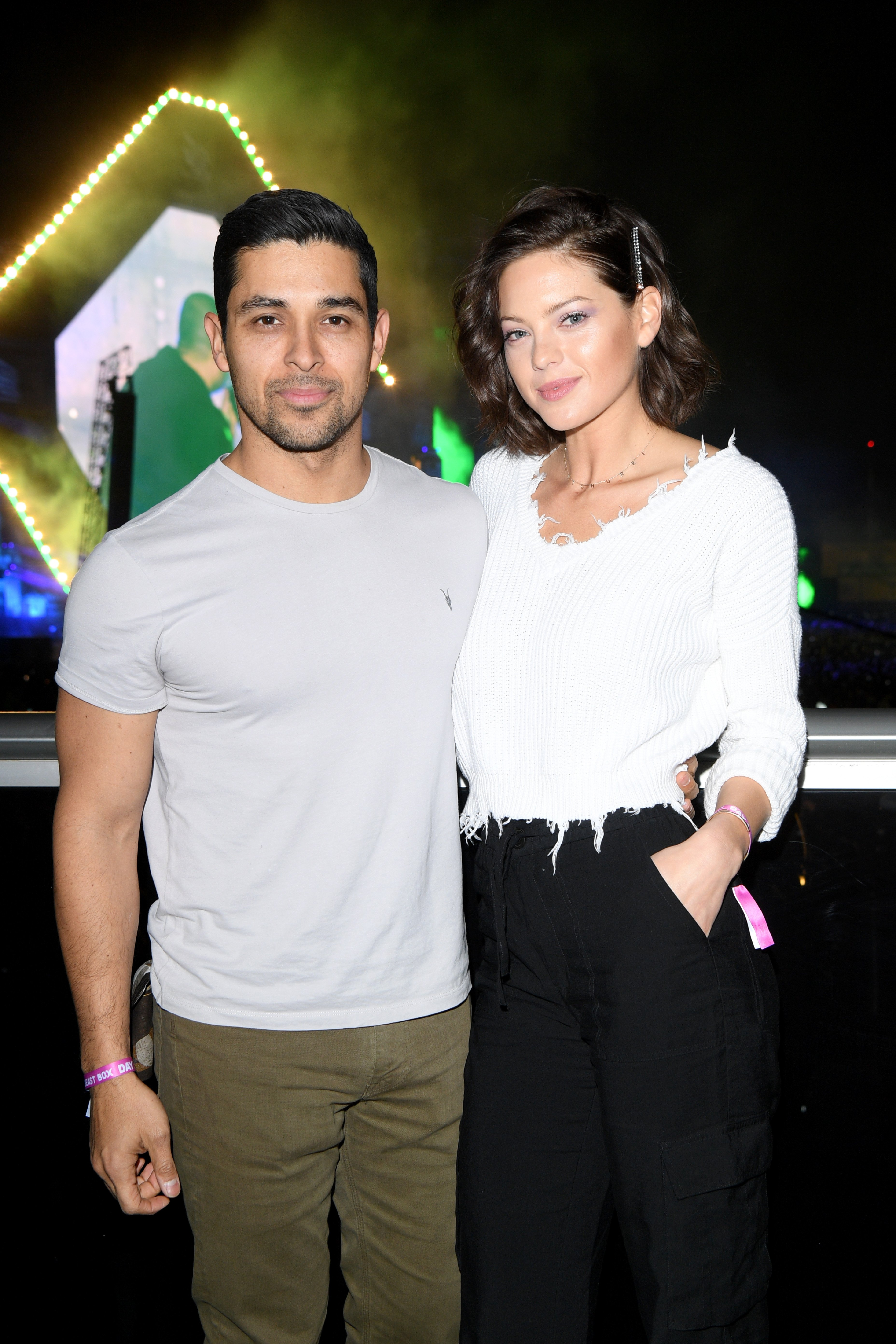 : Wilmer Valderrama and Amanda Pacheco attend the MDL Beast Festival on December 21, 2019|Photo: Getty Images