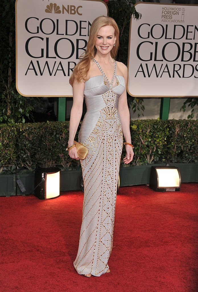 Nicole Kidman at the 69th Annual Golden Globe Awards on January 15, 2012, in Beverly Hills | Source: Getty Images