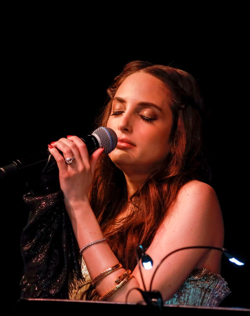 Alexa Ray Joel performs at the Opening Night of her 7th run at the Cafe Carlyle on October 1, 2019   Getty Images