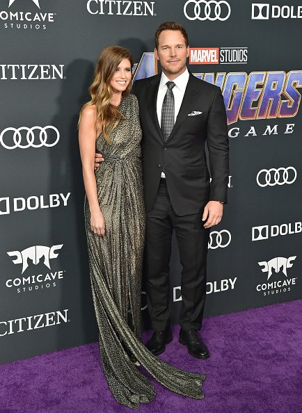 Katherine Schwarzenegger and Chris Pratt at Los Angeles Convention Center on April 22, 2019 in Los Angeles, California.   Photo: Getty Images
