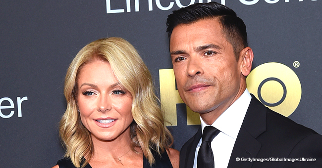 Kelly Ripa Shares How She Deals with Mark Consuelos' Stripper Past