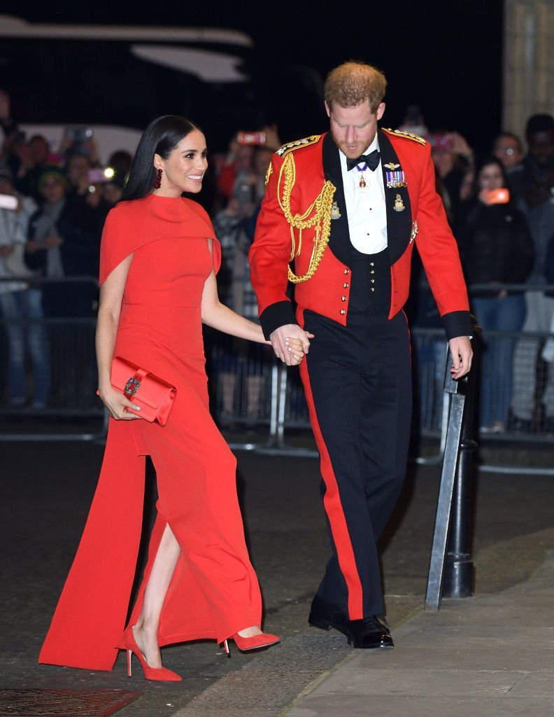 Prince Harry, Duke of Sussex and Meghan, Duchess of Sussex attend the Mountbatten Festival of Music at Royal Albert Hall on March 07, 2020 | Photo: Getty Images
