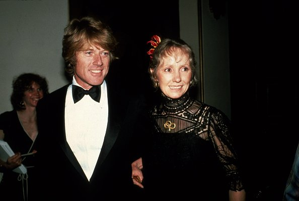Robert Redford and ex-wife Lola attend the 53rd Academy Awards circa 1981 in Los Angeles, California | Photo: Getty Images