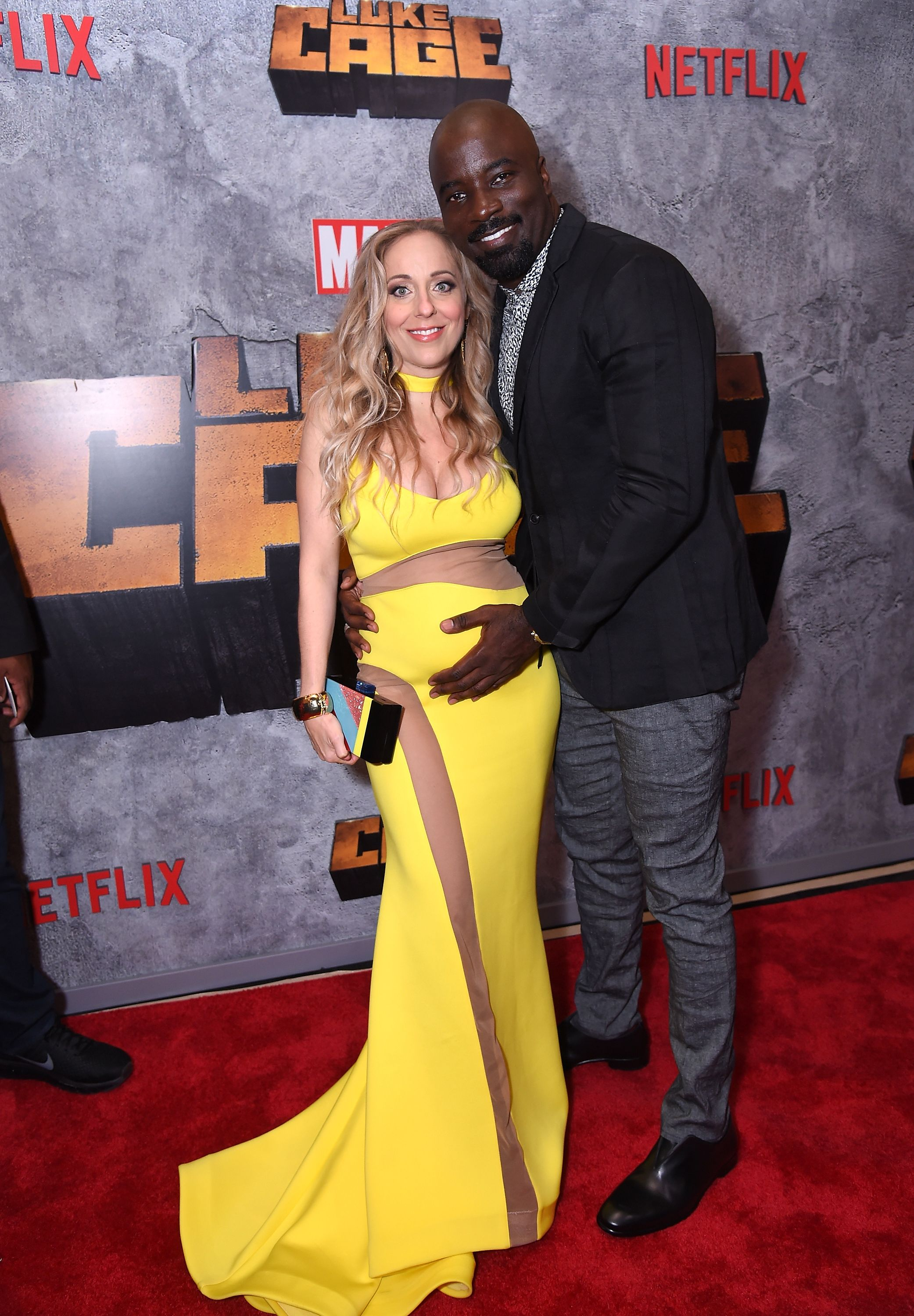 """Iva and Mike Colter at the Netflix Original Series """"Marvel's Luke Cage"""" season 2 New York City premiere on June 21, 2018, in New York City 