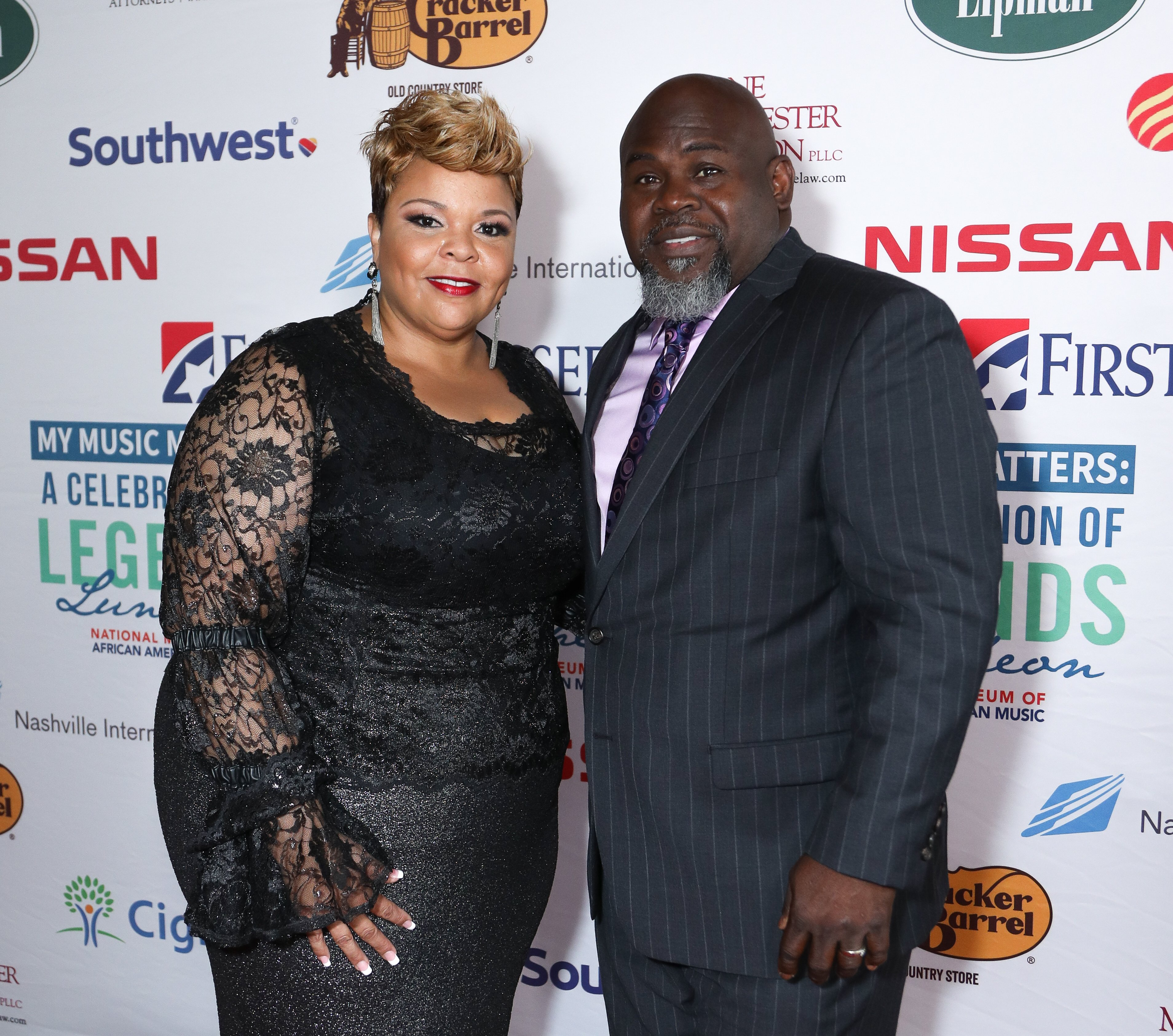 Tamela and David Mann at the 4th Annual My Music Matters: A Celebration Of Legends Lunch on June 1, 2017 in Nashville, Tennessee. | Photo: Getty Images