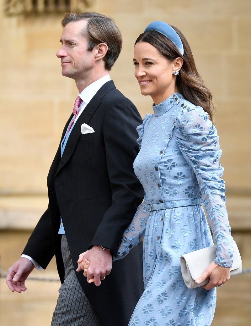 James Matthews and Pippa Middleton at St George's Chapel on May 18, 2019 in Windsor, England | Photo: Getty Images