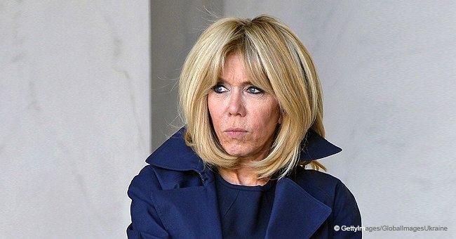 Brigitte Macron : le vieux réflexe de professeur qui ne l'abandonne pas (photos)