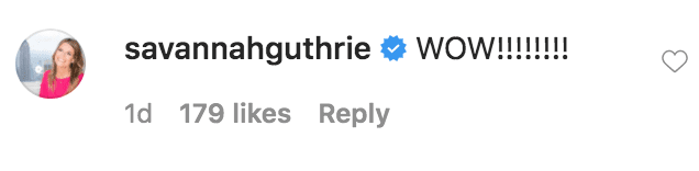 Savannah Guthrie commented on Al Roker's announcement that his daughter Courtney Roker has gotten engaged to her boyfriend, Wesley Laga | Source: instagram.com/alroker