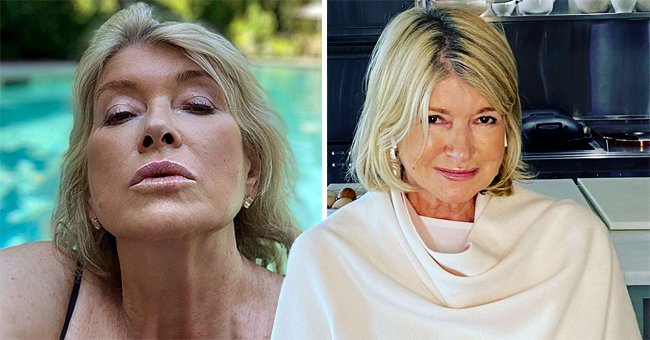 Martha Stewart Speaks about Her Viral Swimming Pool Photo — Was It a Thirst Trap?