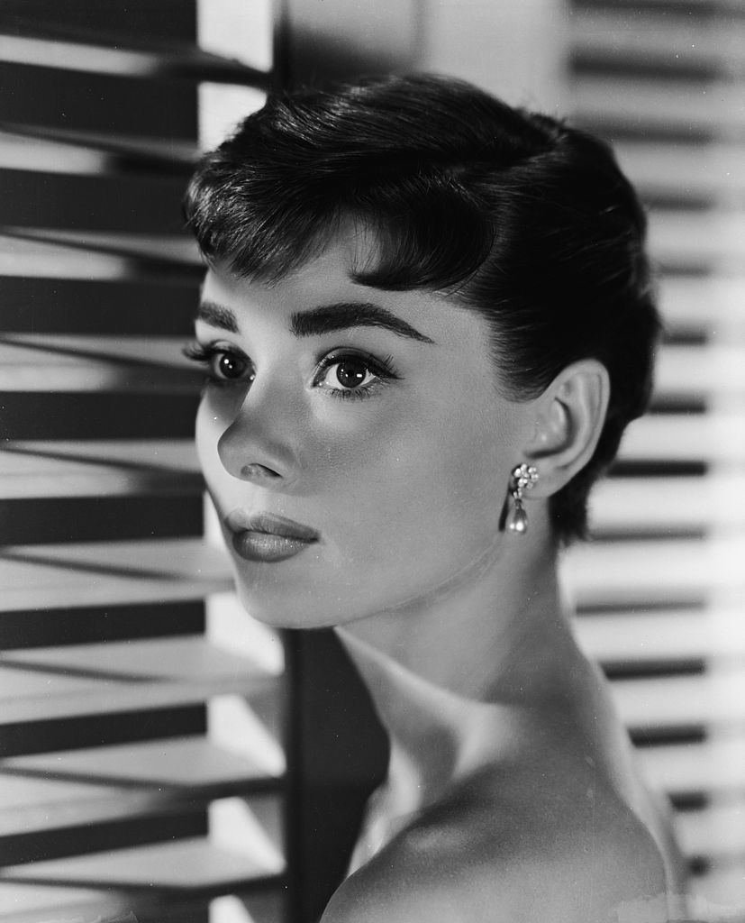 "Audrey Hepburn pictured in ""Sabrina"" in 1954. 
