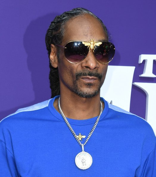 """Snoop Dogg at the premiere of MGM's """"The Addams Family"""" on October 06, 2019 