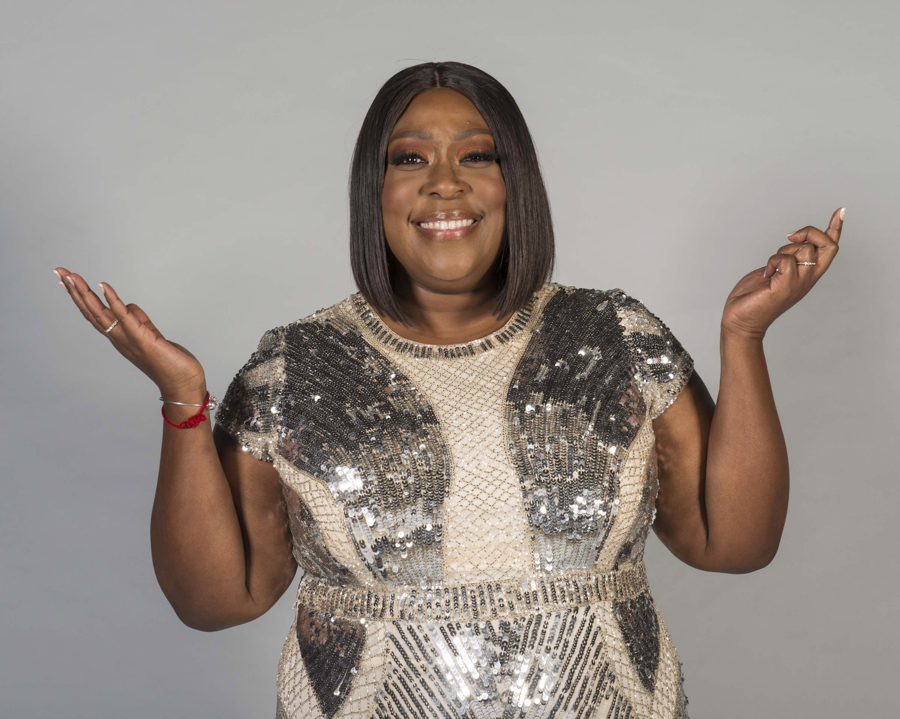 Loni Love poses for portrait at 45th Daytime Emmy Awards - Portraits by The Artists Project on April 29, 2018. | Photo: GettyImages