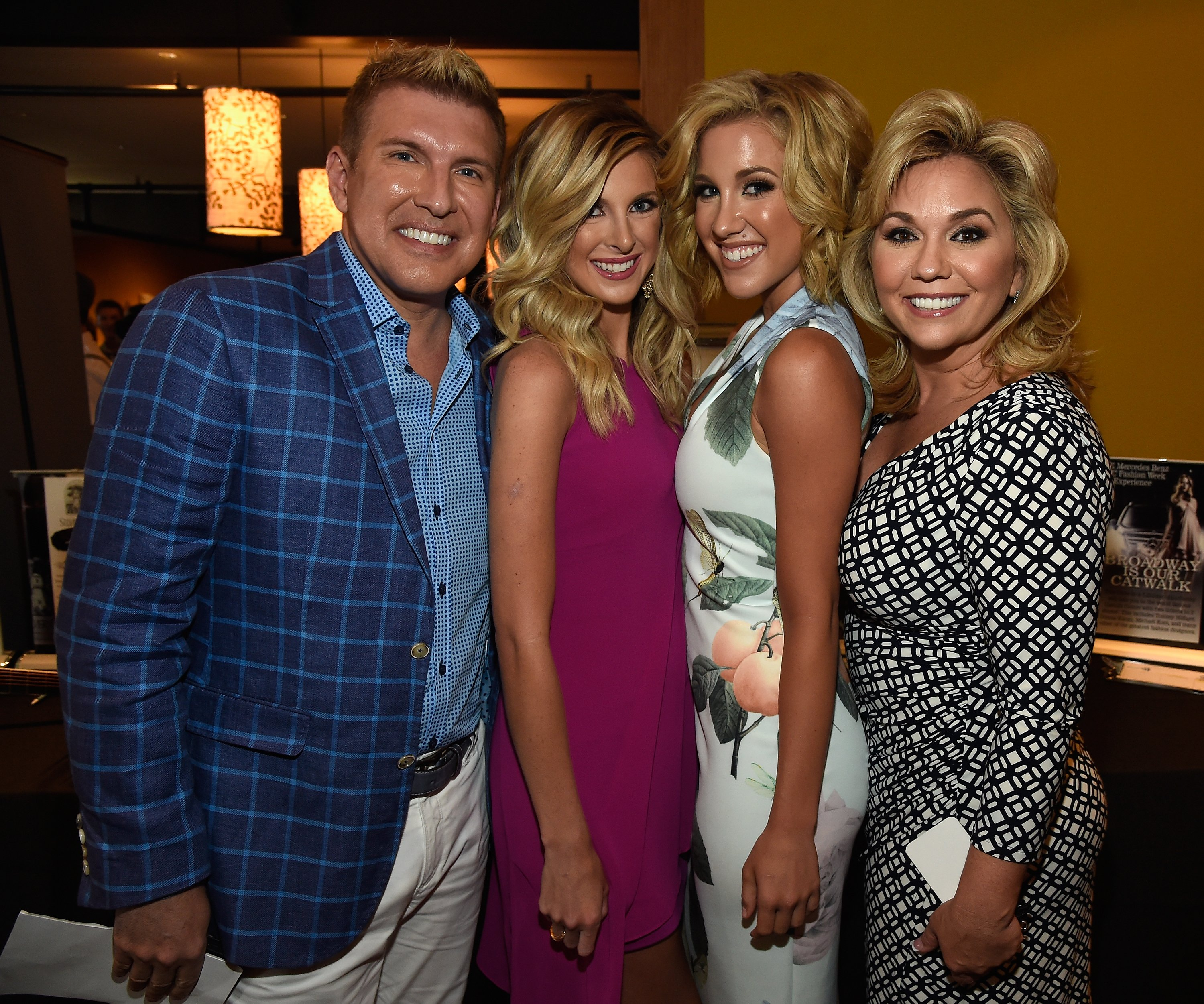 Todd, Lindsie, Savannah and Julie Chrisley at The Concert For Love And Acceptance in Nashville on June 12, 2015 | Getty Images