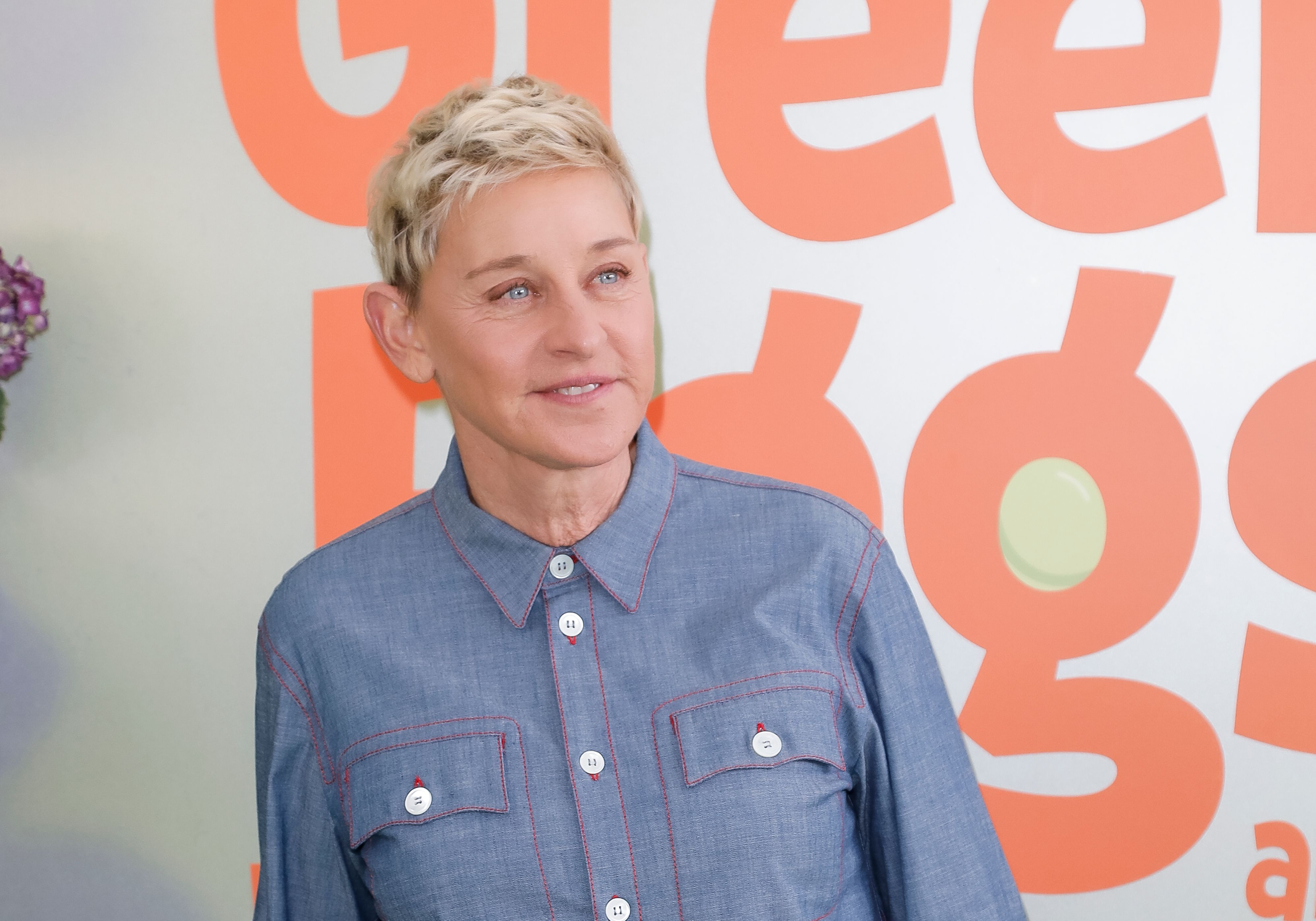 "Ellen DeGeneres at the premiere of Netflix's ""Green Eggs And Ham"" at Hollywood American Legion on November 03, 2019 