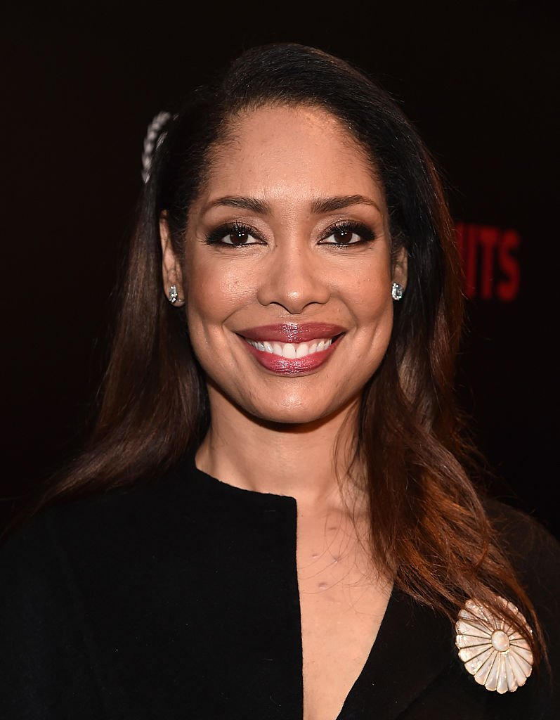 """Gina Torres attends the premiere of USA Network's """"Suits"""" Season 5 at the Sheraton Los Angeles Downtown Hotel on January 21, 2016 in Los Angeles, California. 