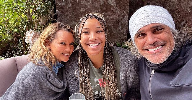 Rick Fox, Vanessa Williams & Their Grown-up Daughter Sasha Celebrate Her 21st B-Day Together