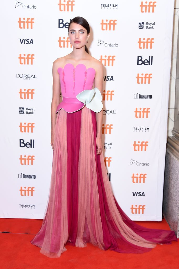 "Margaret Qualley attends the premiere of ""Donnybrook"" at the 2018 Toronto Film Festival in Toronto, Canada on September 7, 2018 