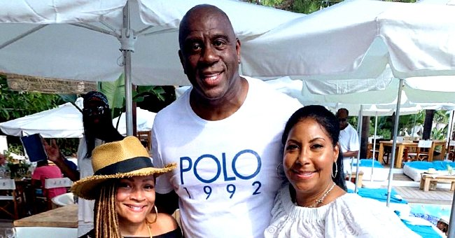 Magic Johnson & Wife Cookie Send Birthday Wishes to LL Cool J's Wife Simone Smith Who Turns 50