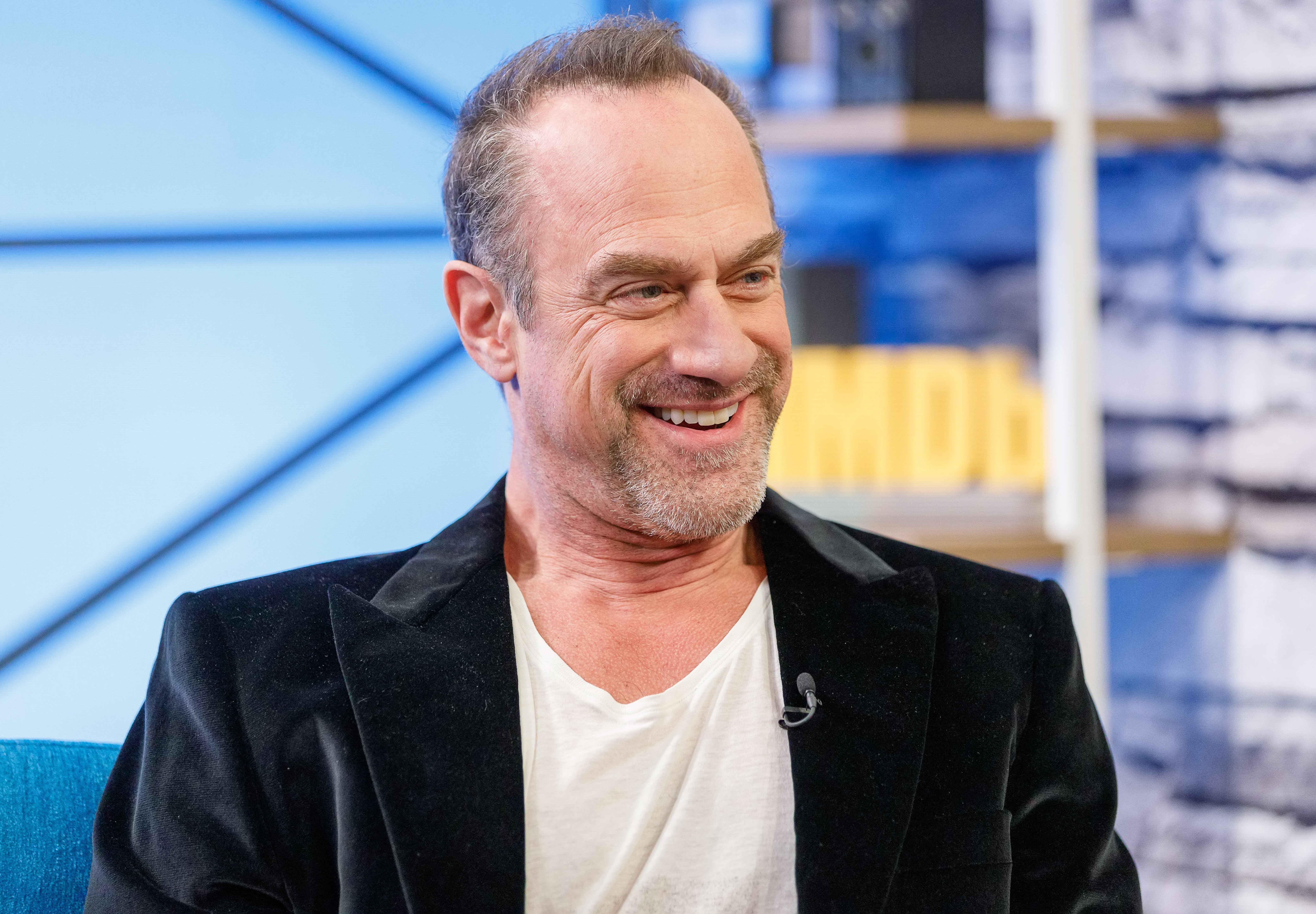 Christopher Meloni visits 'The IMDb Show' on March 26, 2019 in Studio City, California. | Source: Getty Images.