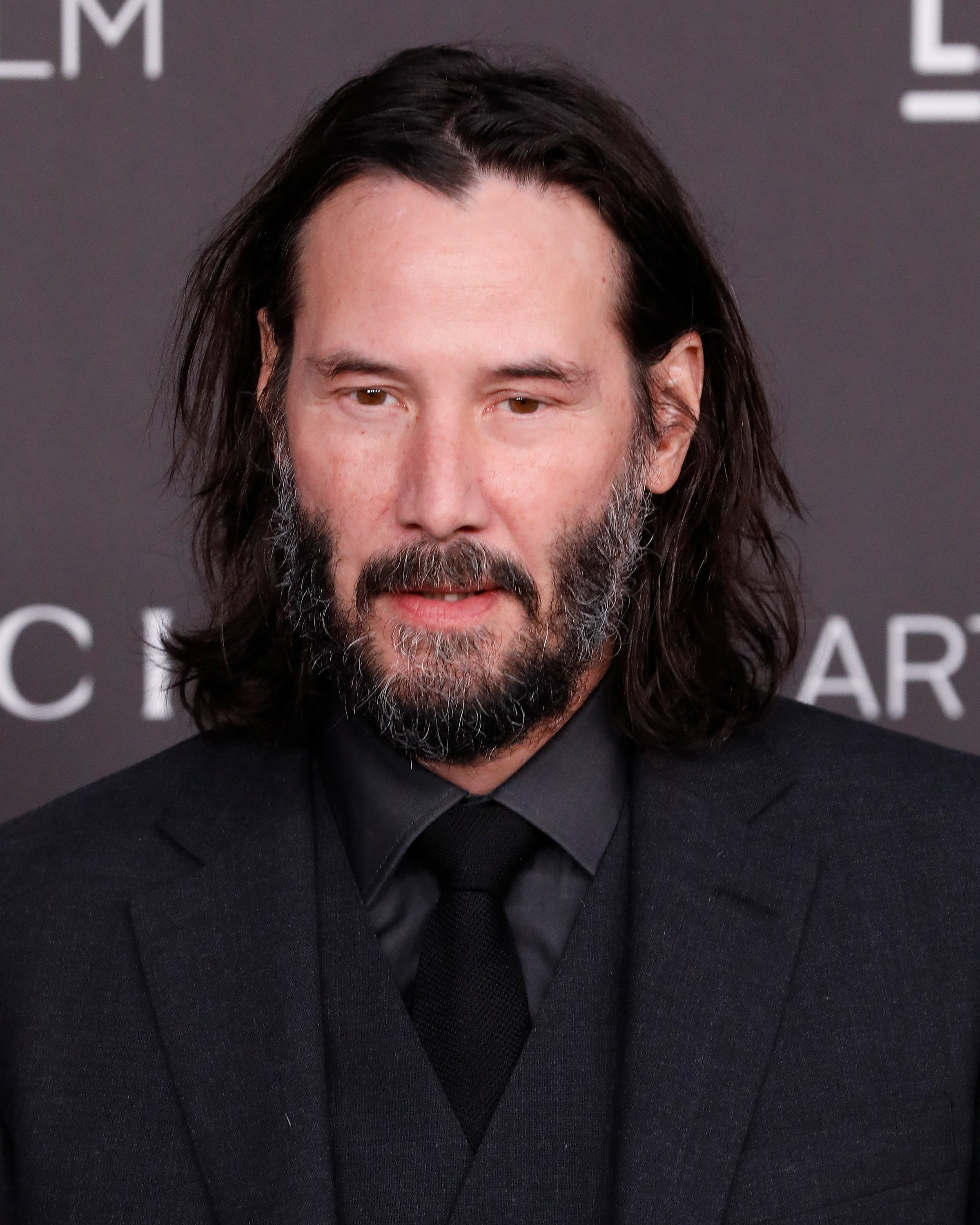 Keanu Reeves, 2019 LACMA Art + Film Gala, 2. November 2019, Los Angeles | Quelle: Getty Images
